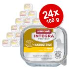 Animonda Integra Protect Adult sečni kamni pladnji 24 x 100 g