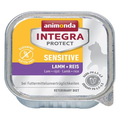 Animonda Integra Protect Adult Sensitive Schaaltje Kattenvoer 6 x 100 g