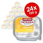 Animonda Integra Protect Adult Sensitive Tăviță 24 x 100 g