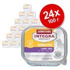 Animonda Integra Protect Adult Sensitive в купичка, 24 x 100 г