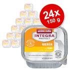 Animonda Integra Protect Nieren Schaaltje 24 x 150 g Hondenvoer