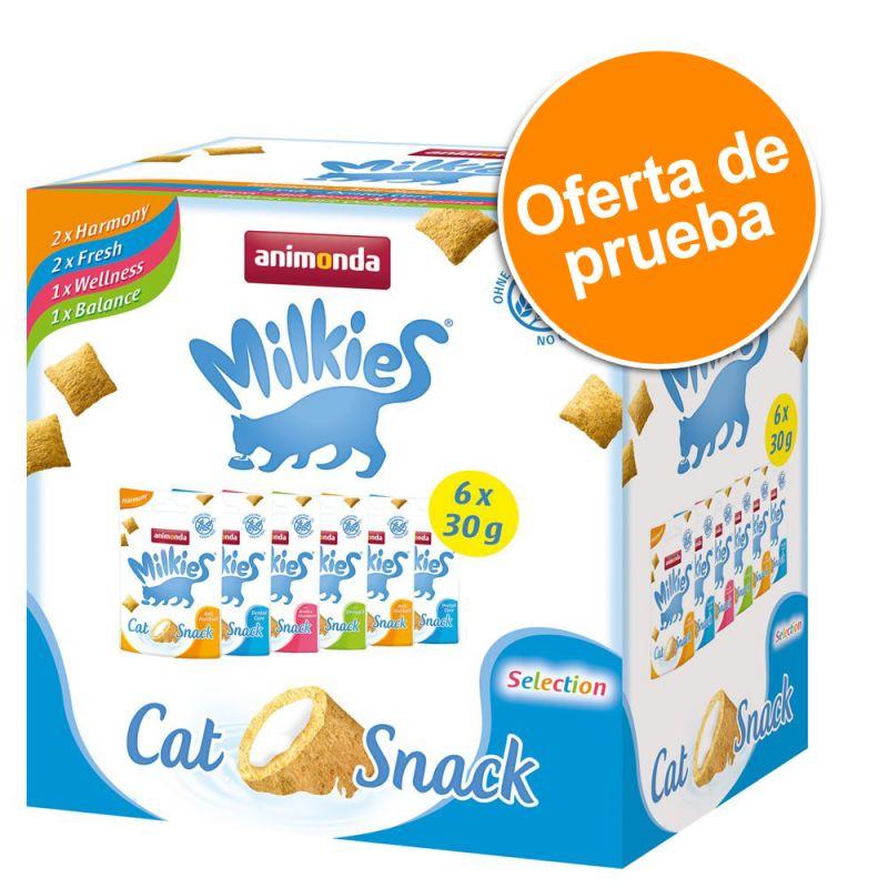 Animonda Milkies snacks crujientes para gatos