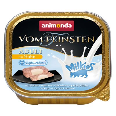 Animonda Vom Feinsten Adult Milkies смесена опаковка 4 x 100 г