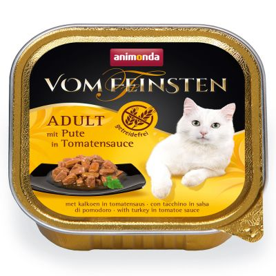 Animonda vom Feinsten Adult NoGrain in Saus Kattenvoer 6 x 100 g