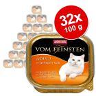 Animonda vom Feinsten Adult Voordeelpakket 32 x 100 g