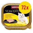 Animonda vom Feinsten für kastrierte Katzen 72 x 100 g