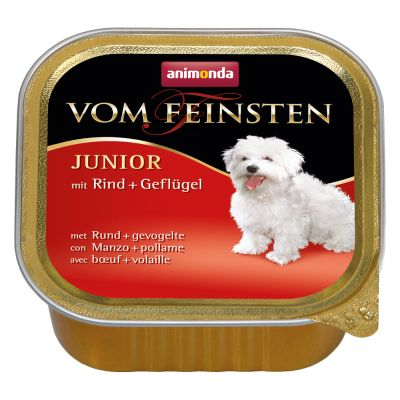 Animonda Vom Feinsten Junior Senza Cereali 6 x 150 g