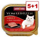 Animonda vom Feinsten kissanruoka: 5 + 1 kaupan päälle!