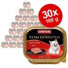 Πακέτο Προσφοράς Animonda vom Feinsten Kitten 30 x 100 g