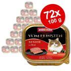 Animonda vom Feinsten Senior -säästöpakkaus 72 x 100 g