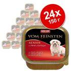 Икономична опаковка Animonda vom Feinsten Senior 24 x 150 г