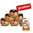 Animonda Vom Feinsten, 6 x 150 g + Meat Chunks, z indykiem, 30 g gratis!