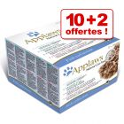 Applaws Adult 10 x 70 g + 2 boîtes offertes !