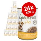 Applaws Grain Free Paté 24 x 400 g - Pack Ahorro