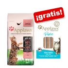 Applaws pienso 1,8 / 2 kg +  8 x 7 g Applaws Puré snack de atún ¡gratis!