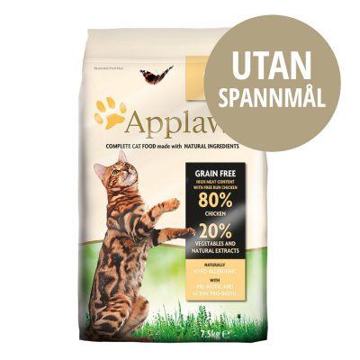 spannmålsfritt kattfoder test
