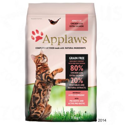 Applaws Adult Naturally Hypoallergenic con pollo y salmón para gatos