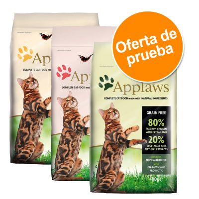 Applaws Adult Naturally Hypoallergenic pienso para gatos - Pack mixto