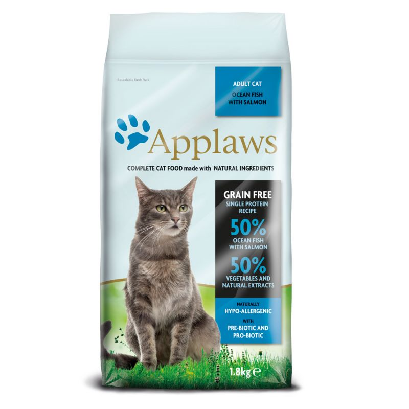 Applaws Adult Ocean Fish with Salmon Dry Cat Food