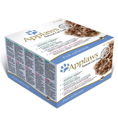 Applaws Cat Cans Mixed Multipacks 70g