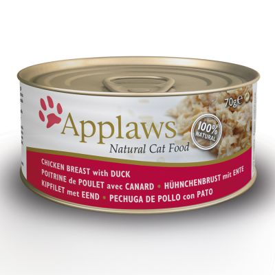 Applaws Cat Food Cans 70g - Chicken in Broth