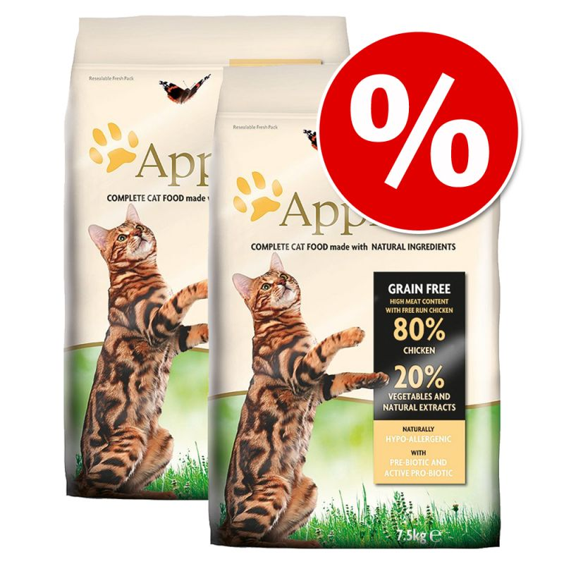 Applaws Cat Food Economy Packs 2 x 7.5kg
