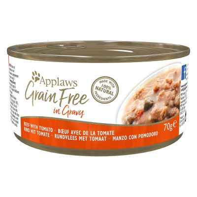 Applaws Cat Food 70g in Gravy – Grain-Free