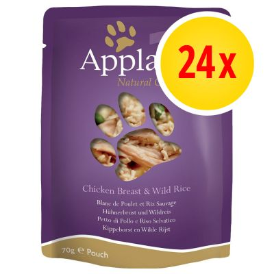 Applaws Cat Food Pouches Multibuy 24 x 70g