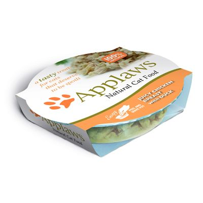 Applaws Cat Pot kattefôr 40 x 60 g