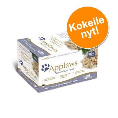 Applaws Cat Pot -lajitelma 8 x 60 g