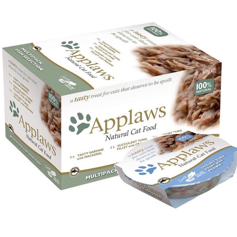 Applaws Cat Pot Multipack Selection 8 x 60g