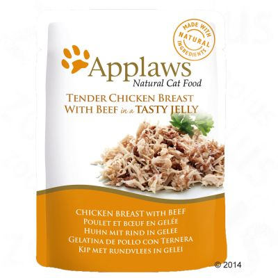 Applaws Cat Pouch en gelatina para gatos 16 x 70 g