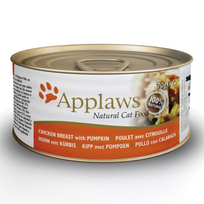 Applaws en caldo 6 x 70 g latas para gatos