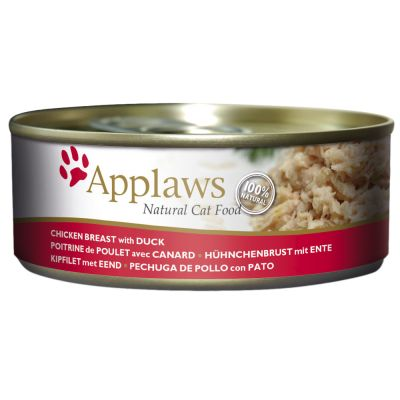 Applaws en caldo 6 x 156 g latas para gatos