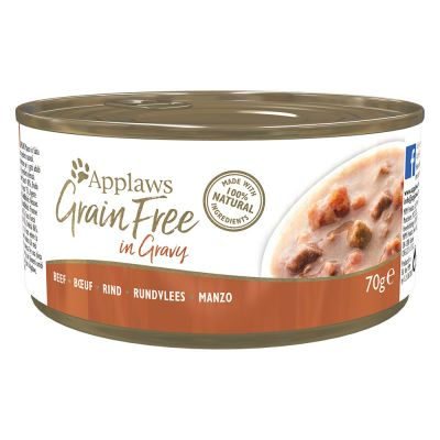Applaws Grain Free en sauce 24 x 70 g pour chat