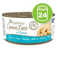 Applaws Grain Free en sauce 24 x 70 g pour chat