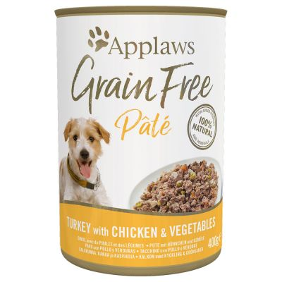 Applaws Grain Free Pate 6 x 400 g