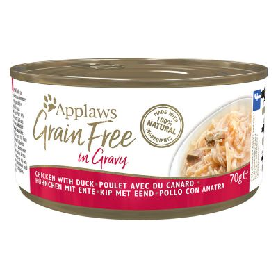 Applaws Grainfree en salsa 6 x 70 g