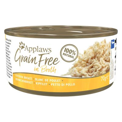 Applaws Grainfree in Broth 6 x 70 g