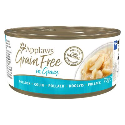 Applaws Grainfree in Gravy 24 x 70 g