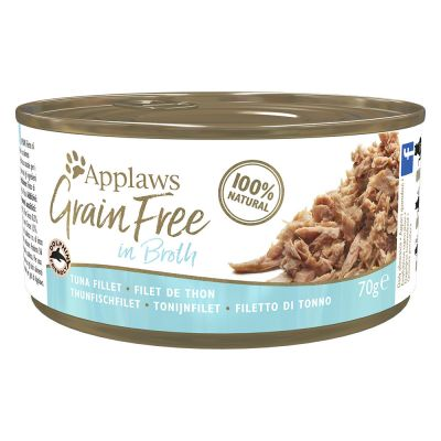 Applaws Grainfree w bulionie, 6 x 70 г