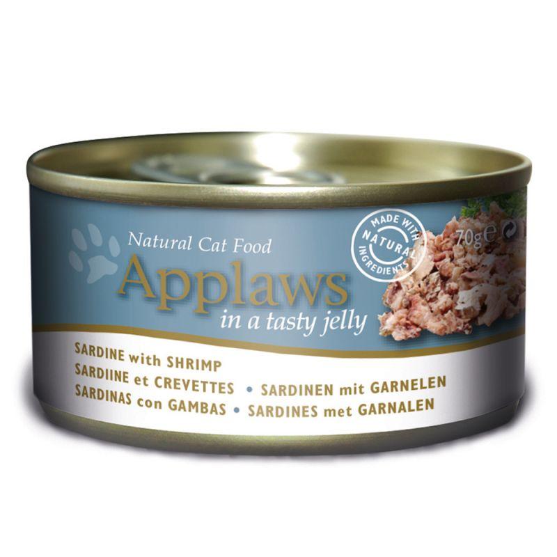Applaws i gelé kattfoder 6 x 70 g