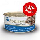 Applaws in Broth -säästöpakkaus 24 x 70 g