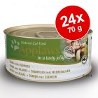 Applaws in Jelly -säästöpakkaus 24 x 70 g