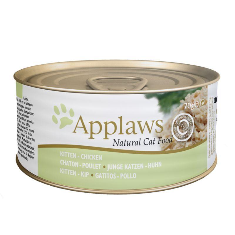Applaws Kitten kattmat 6 x 70 g