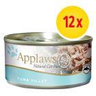 Applaws latas en caldo para gatos 12 x 156 g