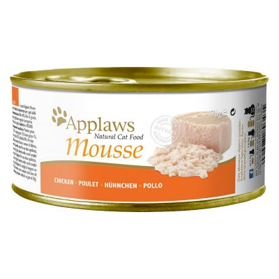 Applaws Mousse, 6 x 70 g