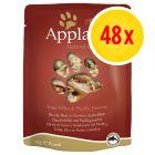 Applaws märkäruokapussi-säästöpakkaus 48 x 70 g