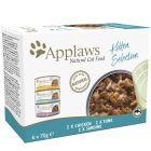 Applaws Multipack Kitten latas para gatos 6 x 70 g