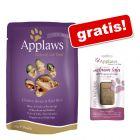 Applaws Plicuri în sos 24 x 70 g + gratis: Applaws Cat Salmon Loin, 30 g
